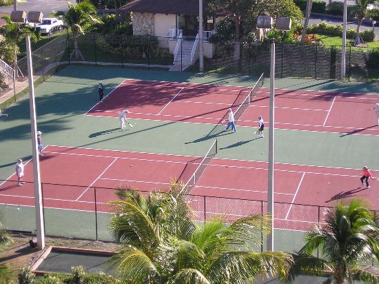 Tennis Courts Picture of The Charter Club of Marco Beach Marco
