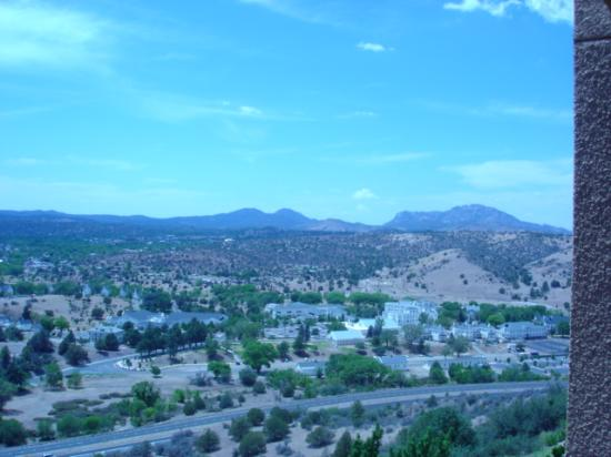 Prescott Resort & Conference Center: View from room