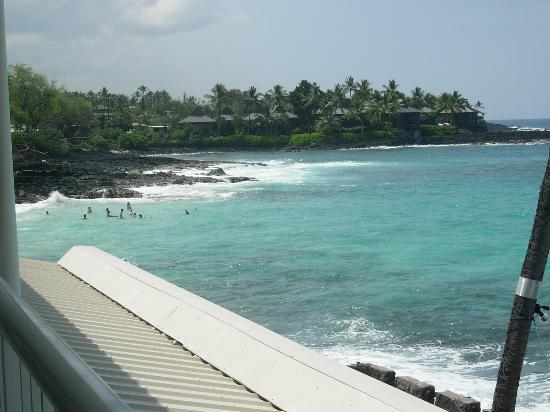 Kona Magic Sands: view to the left