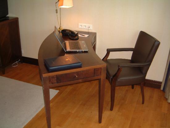 InterContinental Hotel Warsaw: plenty of room to work