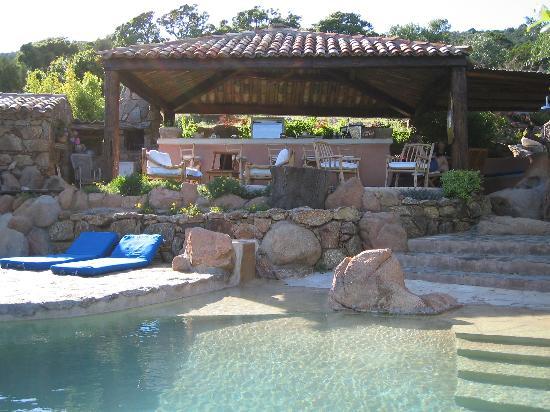 Residence Les Oliviers: Pool bar