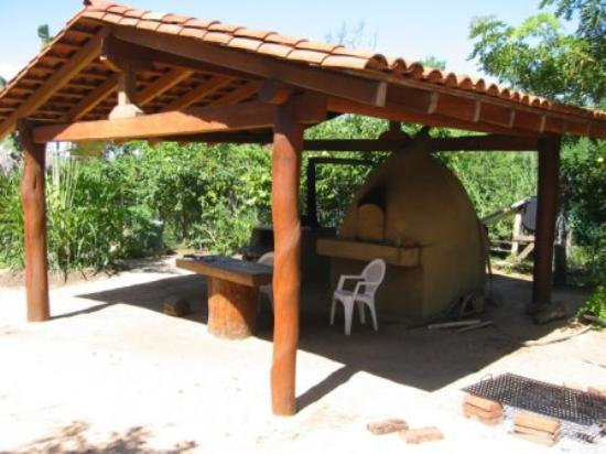 Casa Viva Troncones: Where they make the fresh tortillas on the property!