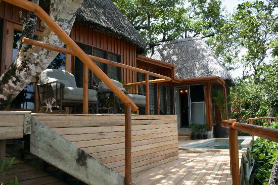 Namale Resort & Spa: Deck of the Lomani Bure