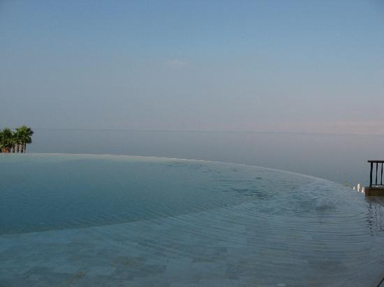 Kempinski Hotel Ishtar Dead Sea: The Infinity Pool - (1 of the 9 Pools in the hotel!!!)