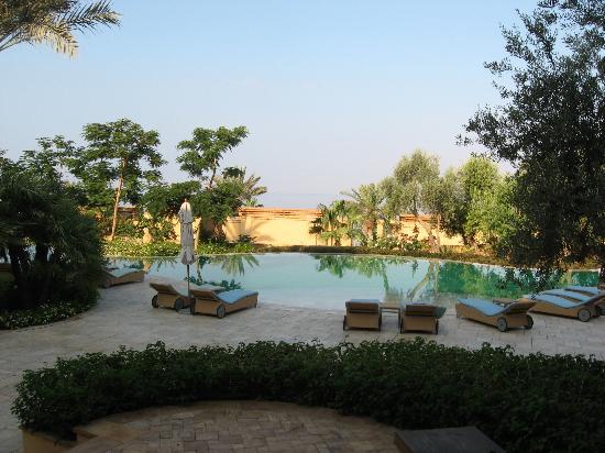 Kempinski Hotel Ishtar Dead Sea: View from my rooms's balcony