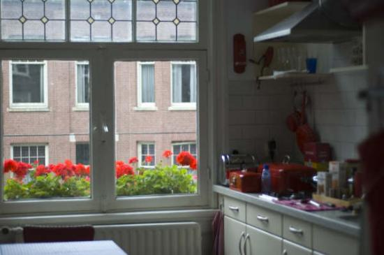 The Collector Bed & Breakfast: Another view of the kitchen