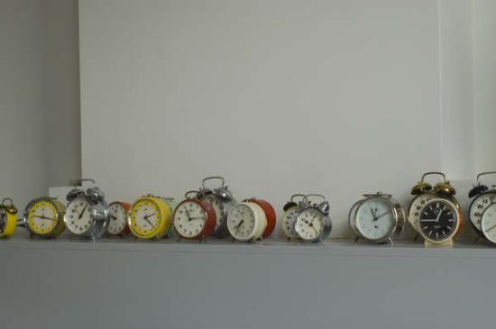 The Collector Bed & Breakfast: The Collector's collection of clocks