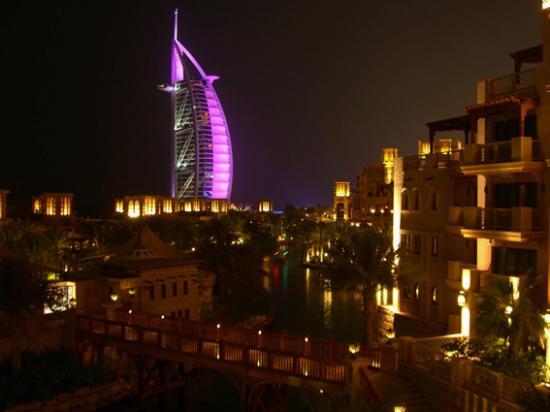 Jumeirah Mina A'Salam: View from Madinat Complex