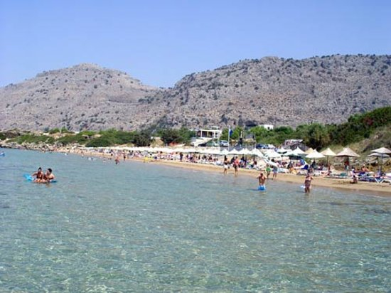 Pefkos - Main Beach