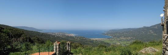Le Lido : view of Propriano from above
