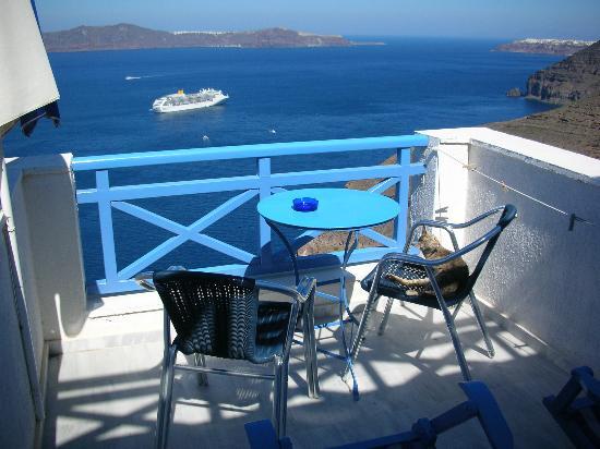 Scirocco Apartments: dieser Balkon mit Ausblick ist Gold wert