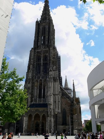 Ulm, Germany: View of the Muenster