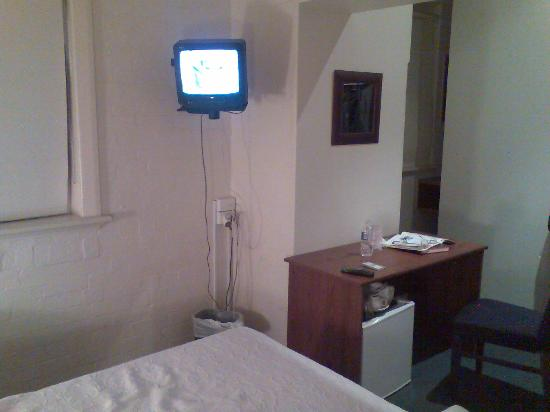 Richmond Hill Hotel: A view from the bed