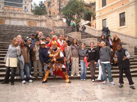 Youth Station Hostel: Meeting a Roman friend