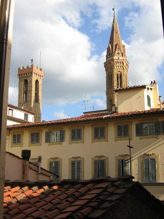 Pensione Maria Luisa de' Medici: View from third floor entrance