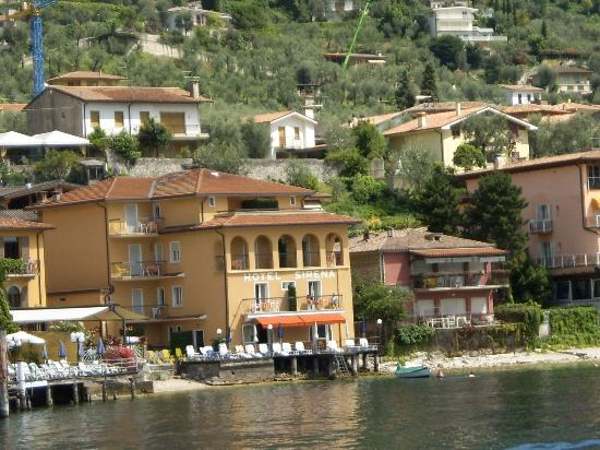 Hotel Sirena from the lake