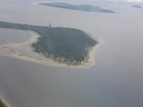 Bunaken Cha Cha Nature Resort: Location on Bunaken
