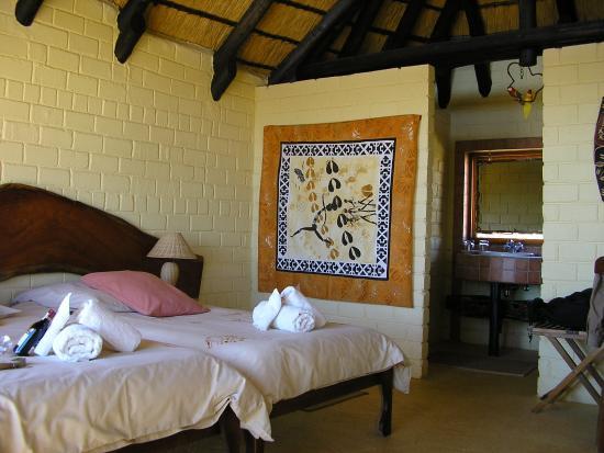 Amani Lodge: Inside room at Amani