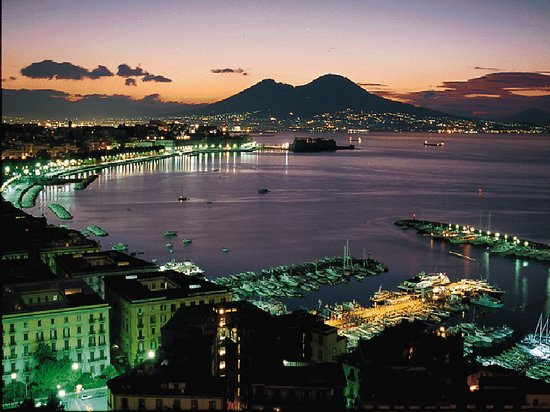 Napels, Italië: Port of Naples