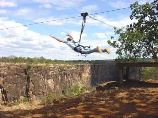 Kaazmein Lodge and Resort: Zambezi Swing