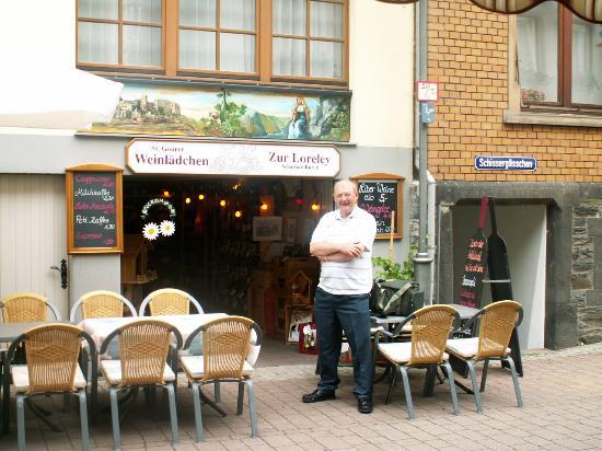 Rhine Hotel Zur Loreley: Zur-Loreley Wine Shop