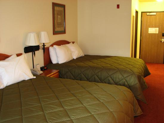 Comfort Inn Manitou Springs: Queen Beds, Second Floor