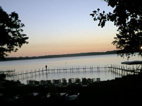 Village West Resort - West Lake Okoboji: Sunrise on the beach