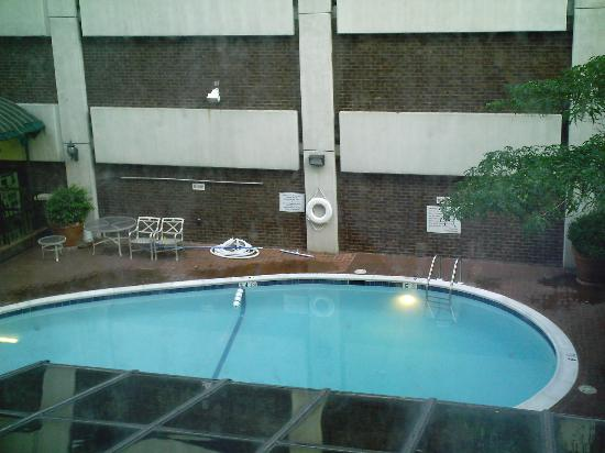 Days Inn Baltimore Inner Harbor: I had pool view, not bad