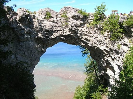 Mackinac Island, MI: Arch Rock