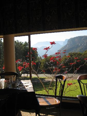 Forever Resort Blyde Canyon: Breakfast Room with a View