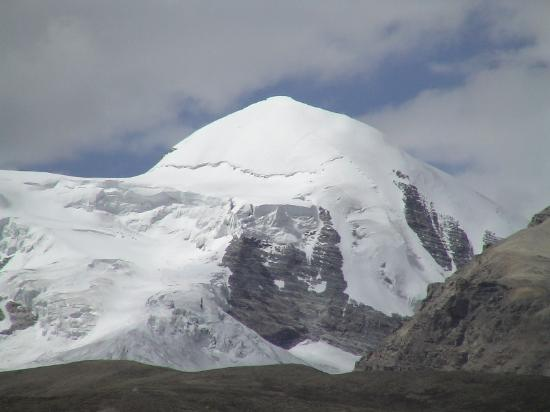 Tibet, China: A Snowy Mt