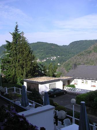 Moselromantik-Hotel THUL: View from Balcony2