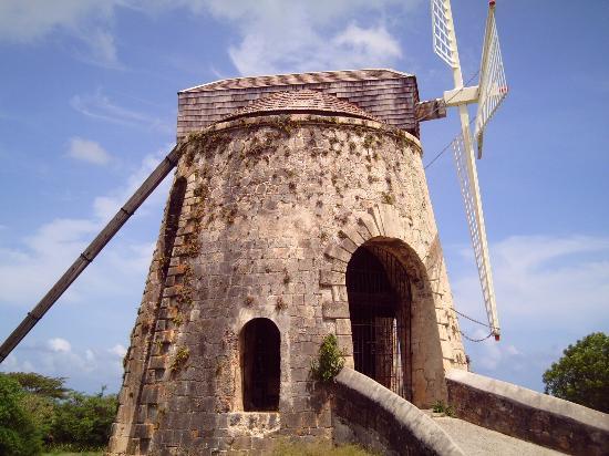 Sainte-Croix : Windmill at Whim Plantation