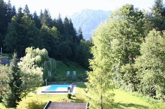 Pension Aloisia: Garden and Wilder Kaiser view