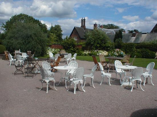 Northwich, UK: Outside eating area