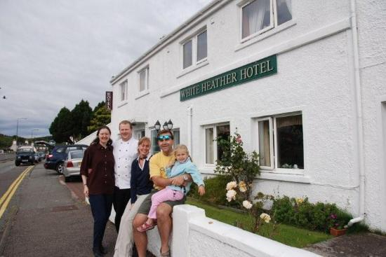 White Heather Hotel: Owners, guests