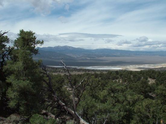 Rock Creek Pack Station: View from Pauite encampment