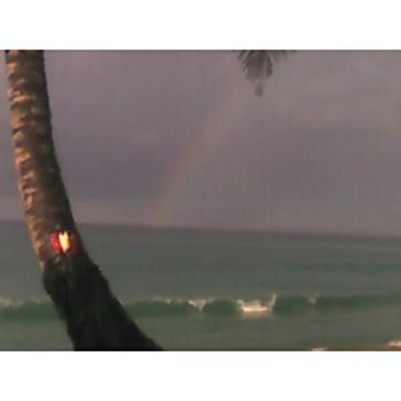 Beside The Pointe Inn: The rainbow after the thundershower