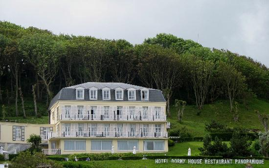 Building we stayed in at dormy house picture of hotel for Hotels etretat
