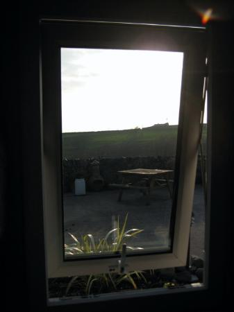 Byrdir Farmhouse and Studio: View out of the window