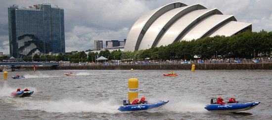 Γλασκόβη, UK: glasgow river festival