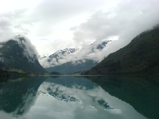 Norge: Near Briksdalsbreen