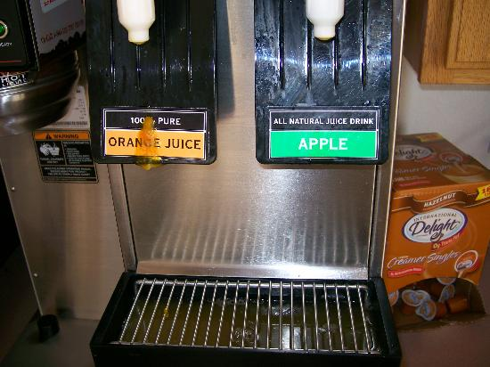 Americas Best Value Inn Phoenix/I-10 West: Want some orange juice?