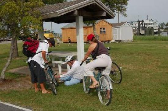 swan quarter biking