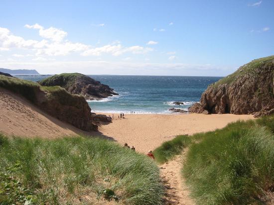 Condado de Donegal, Irlanda: 'Murder Hole Beach' Melmore Head