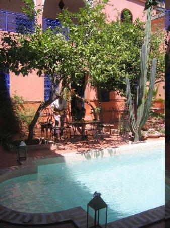 Ryad Les Cigognes : The pool