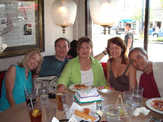 Domenico's Belmont Shore: Marcy's 2007 Birthday at Domenico's