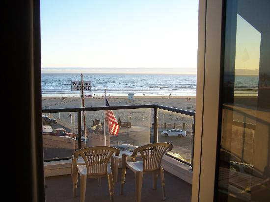 Beach House Inn And Suites Picture From Inside The Room Looking Out