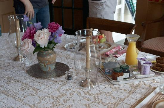 Harborside House: Lovliest Breakfast Ever