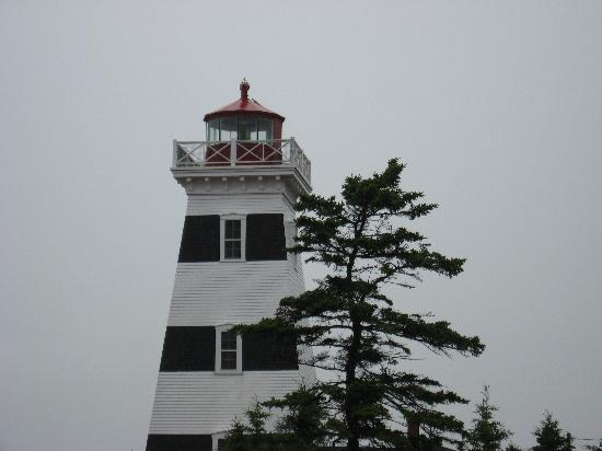West Point, Canada: lighthouse